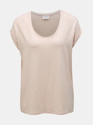 Tricou basic roz deschis VERO MODA AWARE Cina