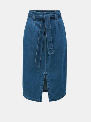 Modrá džínová sukně VERO MODA Vanessa