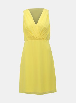 Žluté šaty VILA Alli