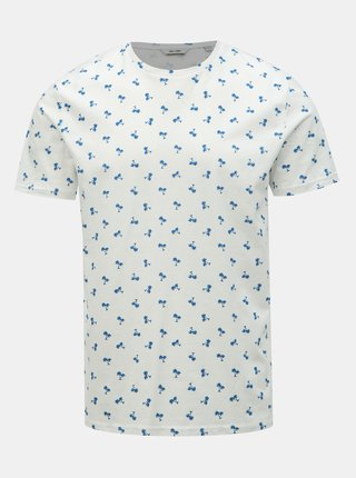 Tricou alb cu imprimeu ONLY & SONS Pineapple