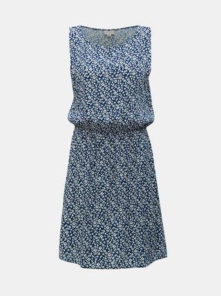 Modré kvetované šaty Jacqueline de Yong Star