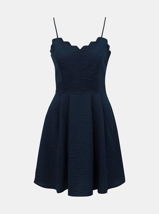 Rochie albastru inchis VILA Linea