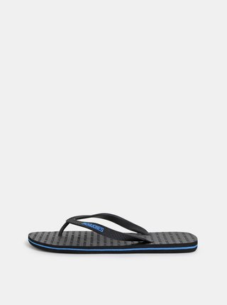 Papuci flip-flop negri Jack & Jones Basic