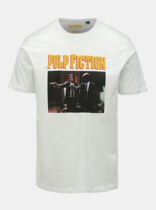 Tricou alb cu imprimeu ONLY & SONS Pulp Fiction
