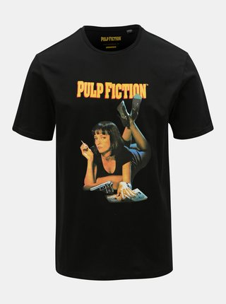 Tricou negru cu imprimeu ONLY & SONS Pulp Fiction