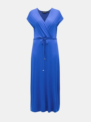 Modré maxišaty Dorothy Perkins Curve
