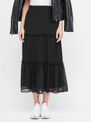 Černá maxi sukně ONLY Star