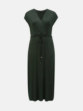 Rochie maxi verde inchis Dorothy Perkins Curve