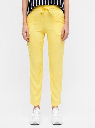 Žlté nohavice VERO MODA Simply Easy