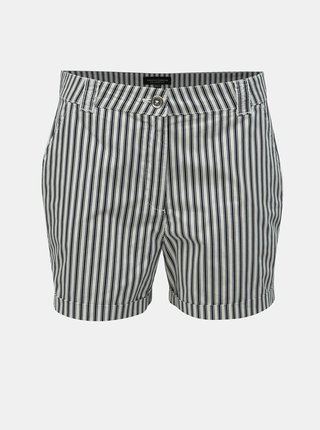 Pantaloni scurti alb-albastru in dungi Dorothy Perkins