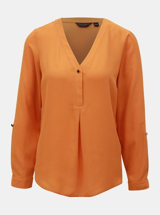 Oranžová halenka Dorothy Perkins