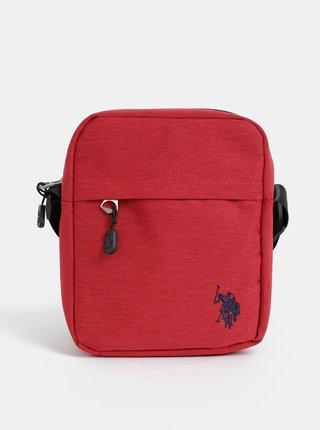 Červená pánska crossbody taška U.S. Polo Assn.