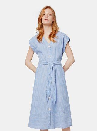Rochie midi albastri in dungi Tom Tailor