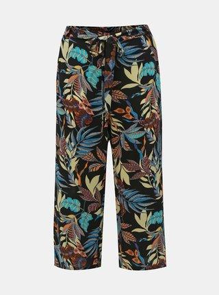 Černé vzorované kalhoty ONLY CARMAKOMA Lux