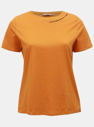 Tricou oranj ONLY CARMAKOMA Daggie