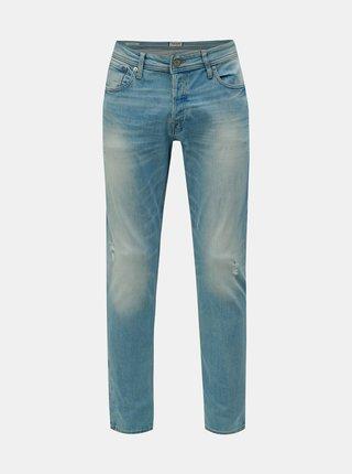 Světle modré slim fit džíny Jack & Jones Glenn