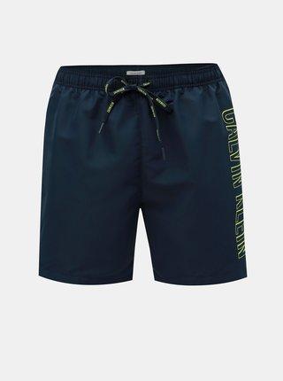 Tmavomodré pánske plavky Calvin Klein Underwear
