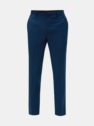 Pantaloni formali albastri slim fit Burton Menswear London