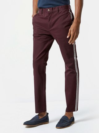 Pantaloni bordo slim fit Burton Menswear London