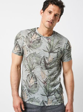 Tricou verde cu model Burton Menswear London