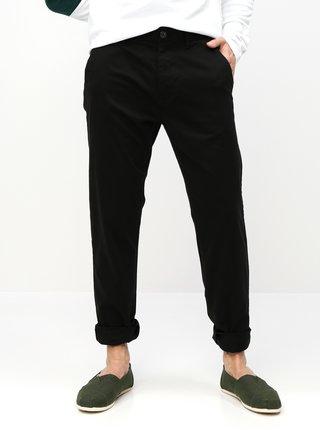 Pantaloni negri straight chino Burton Menswear London