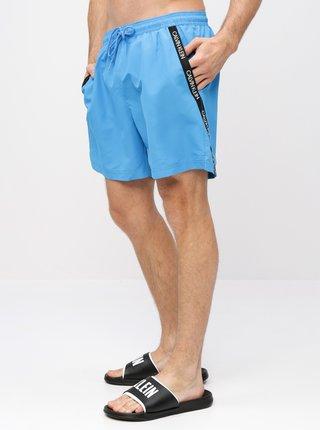 Modré pánske plavky Calvin Klein Underwear