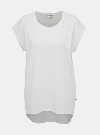 Tricou basic alb Noisy May Mathilde