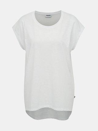 Bílé basic tričko Noisy May Mathilde