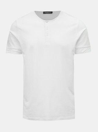 Bílé tričko Selected Homme Amos