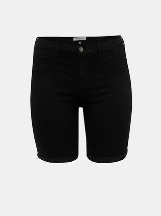 Pantaloni scurti negri din denim ONLY CARMAKOMA Thunder