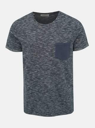 Modré žíhané tričko Selected Homme Jack