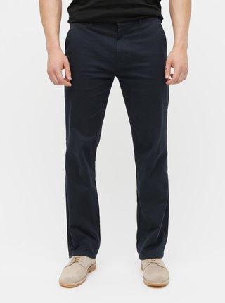 Pantaloni albastru inchis chino straight Burton Menswear London