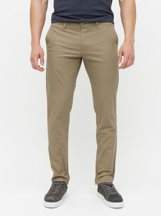 Hnedé chino nohavice ONLY & SONS Tarp