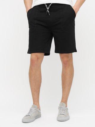 Pantaloni sport scurti negri ONLY & SONS Nathan