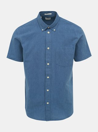 Camasa albastra regular fit Selected Homme Reglandon