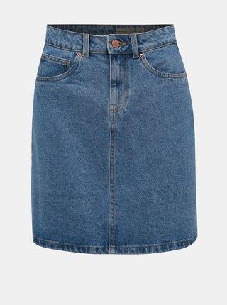 Modrá džínová sukně VERO MODA Kathy