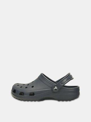 Šedé pánské pantofle Crocs Classic