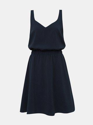 Rochie albastru inchis cu model VILA Laia