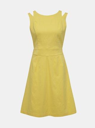d334aae2f481 Žlté šaty VILA Atlia
