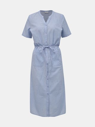 ec0f33319070 Modré šaty VILA Nelia