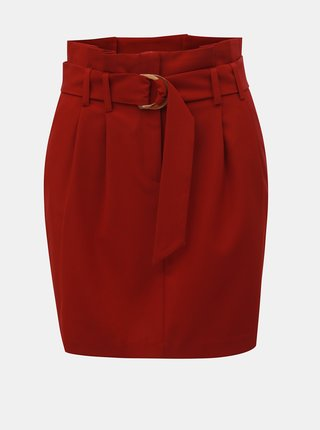 Červená minisukně Miss Selfridge