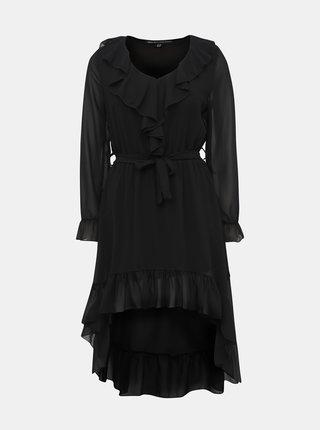 6c4cdbd3b54b Černé šaty s krajkovými a květovanými detaily Desigual Paloma