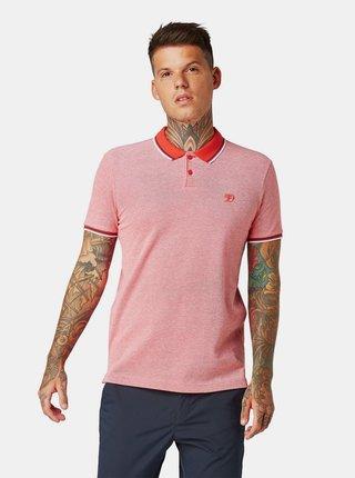 Červené pánské polo tričko Tom Tailor Denim