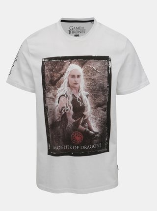 Tricou alb ONLY & SONS Games of thrones
