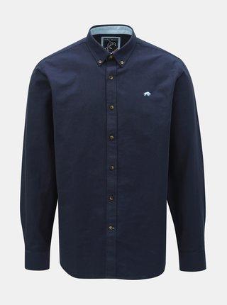 Tmavě modrá košile Raging Bull