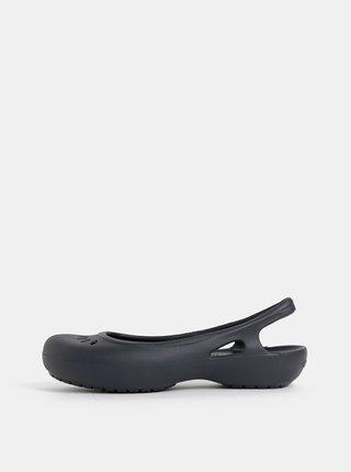 Černé baleríny Crocs Kadee Slingbacks