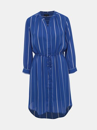 Rochie tip camasa albastra in dungi Selected Femme Damina