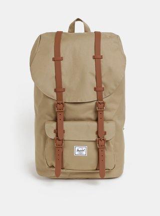 Světle hnědý batoh Herschel Little America 25 l