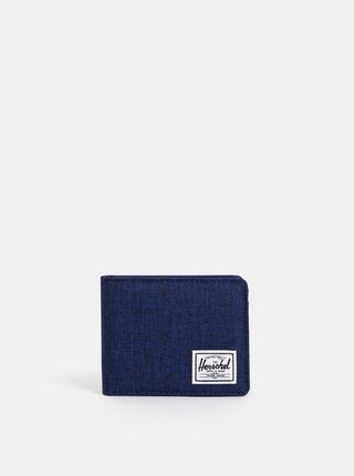 Portofel barbatesc albastru inchis melanj Herschel Roy