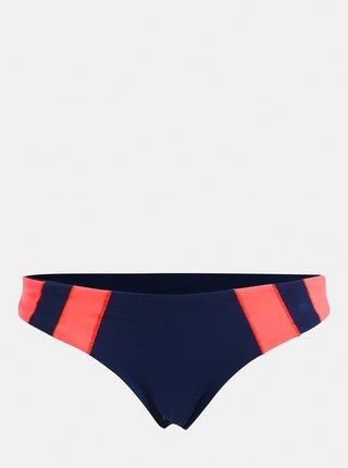 Slip de baie roz-albastru reversibil de dama Rip Curl